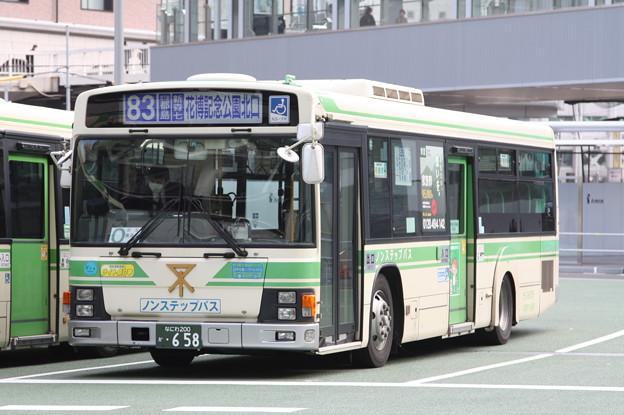 大阪市営バス 18-0658号車