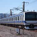 常磐線 E531系K401編成 347M 普通勝田行