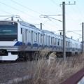 常磐線 E531系K406編成 394M 普通上野行
