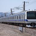 常磐線 E531系K403編成 343M 普通勝田行