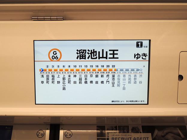 銀座線1000系 LCD