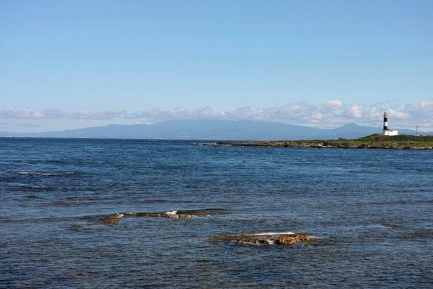 14.大間崎から対岸の北海道を見る