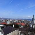 写真: 元町の住宅街から