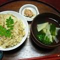 たけのこご飯 4