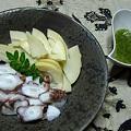筍とタコの山椒味噌