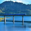 Photos: ブルー! 北上線 錦秋湖号