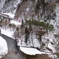 冬の仙岩峠