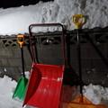 Photos: 雪かき道具