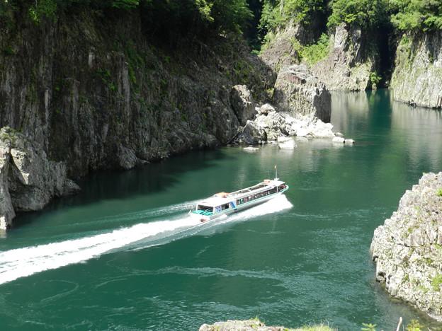 瀞峡観光船