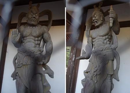 曼荼羅寺仁王