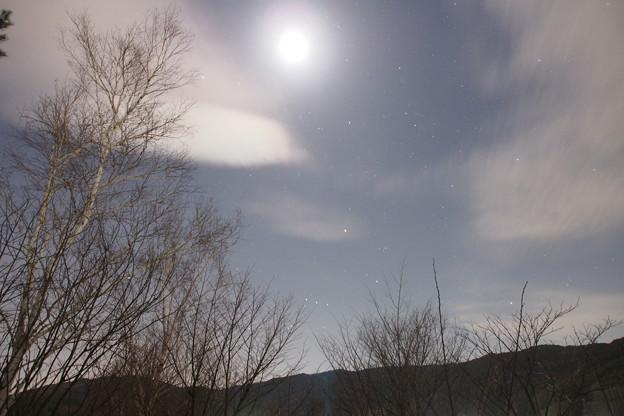 オリオン、すばる、冬の大三角、シリウス等冬を彩る星は季節的にそろそろ見納め、また来年