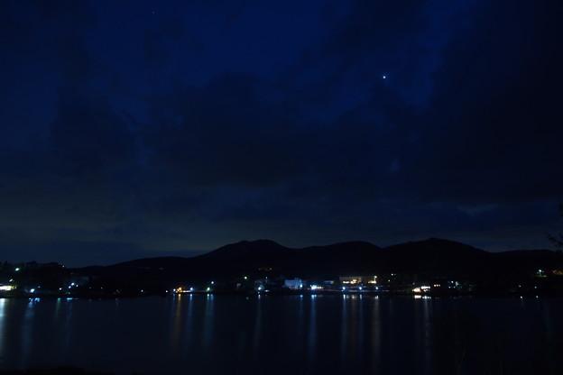 夜空に燦然と輝くビーナス