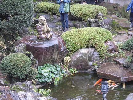 東覚寺のお庭