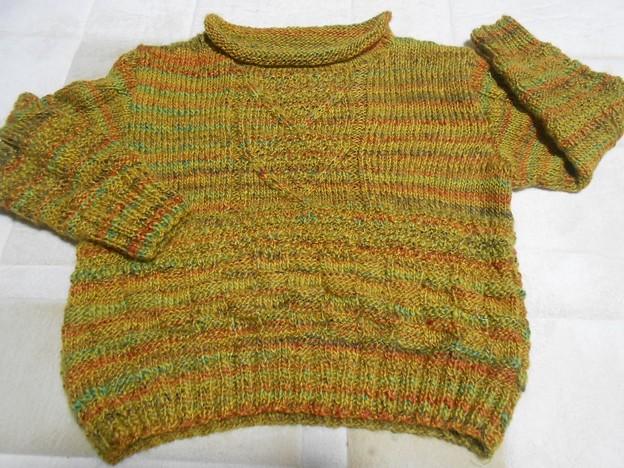 自分用も編みあがったけど・・・