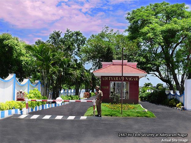 Adityaram Nagar Gated Security
