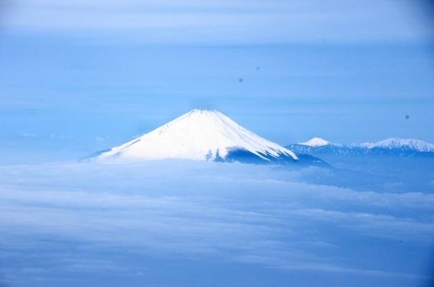 写真00002 相模湾の東部で撮影した富士山