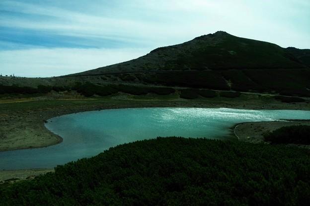 写真00412 鶴ヶ池と富士見岳