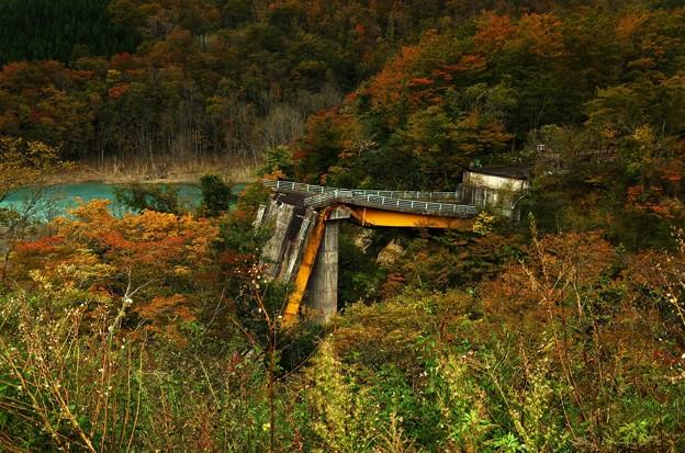 写真00271 そこにはこんな橋の残骸が