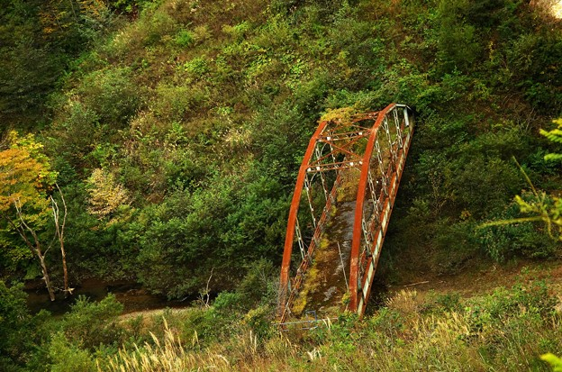 写真00279 橋の下にアーチ橋を見つけたのですが
