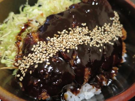 粋菜庵しなの 味噌カツ丼(全国ご当地どんぶりまつり限定) アップ