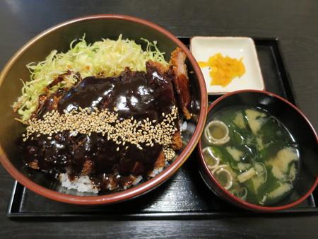 粋菜庵しなの 味噌カツ丼(全国ご当地どんぶりまつり限定)¥780