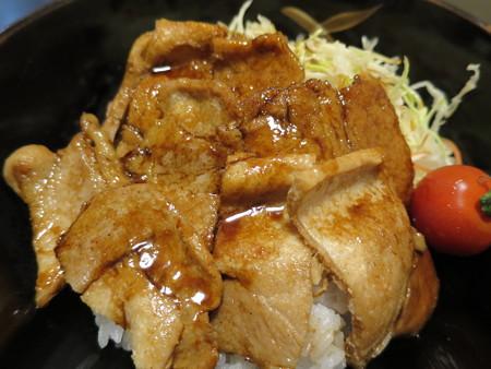 粋菜庵しなの トンテキ丼(全国ご当地どんぶりまつり限定) アップ