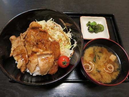粋菜庵しなの トンテキ丼(全国ご当地どんぶりまつり限定)¥760