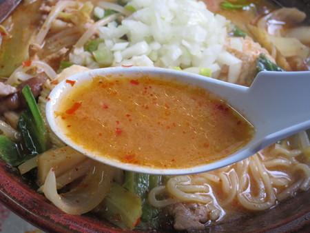 まんまや食堂 越後の麺太郎 スープアップ
