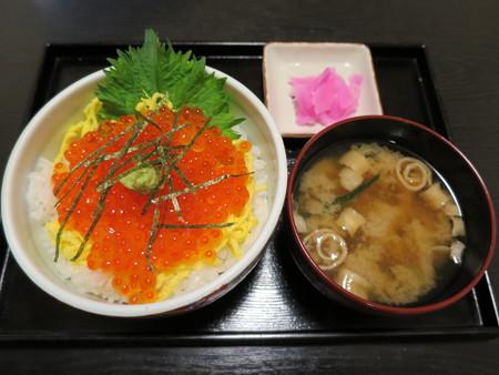 粋菜庵しなの いくらぶっかけ丼(全国ご当地どんぶりまつり限定)¥980