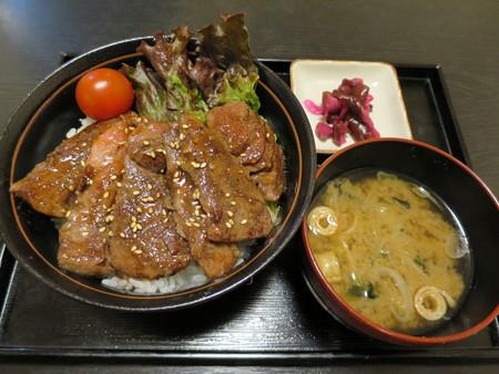 粋菜庵しなの 米沢牛焼肉丼(全国ご当地どんぶりまつり限定)¥1680