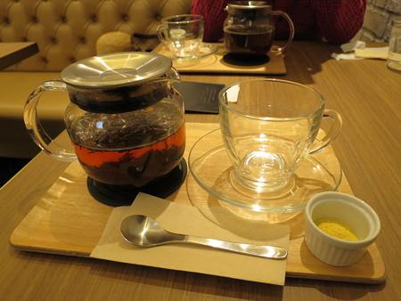 横町カフェ 柚子ほうじ茶(ホット)¥300(セット価格)