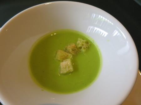 ワインサロン エルミタージュ デリ2品+メイン スープ(ブロッコリーのスープ)