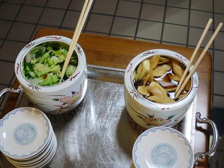 らー麺 天心 漬け物コーナー