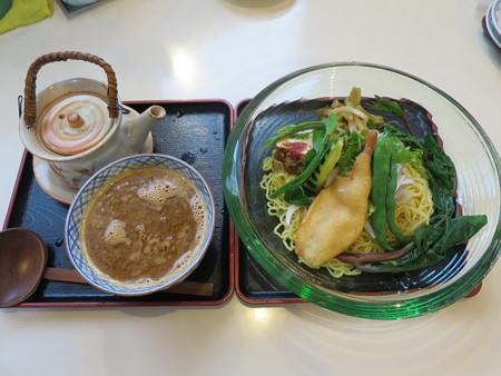 らー麺 天心 焼海老つけ麺¥1200