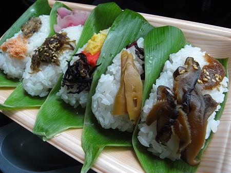 味っこ弁当 笹寿司 5枚入 アップ