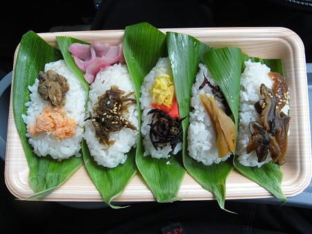 味っこ弁当 笹寿司 5枚入¥550