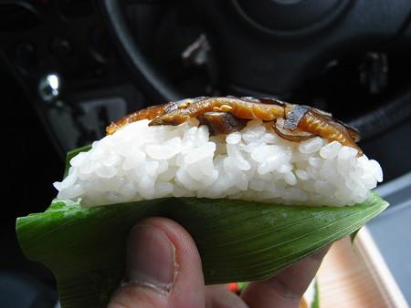 味っこ弁当 笹寿司 5枚入 横から見た図
