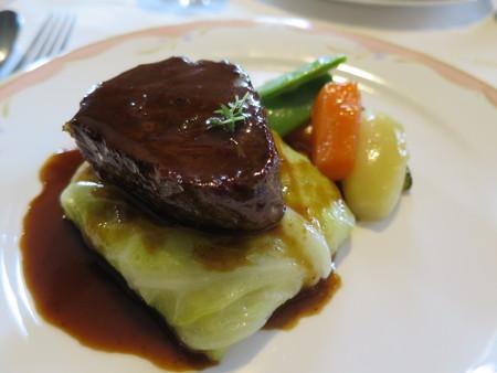 カーザ サンヴィート おすすめコース(肉) 黒毛和牛のロースト サーロイン アップ