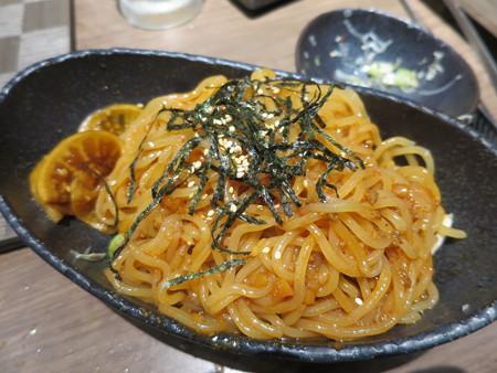 焼肉モランボン 市役所前店 ビビン麺¥1058