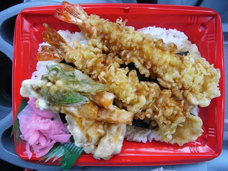 米やのコシヒカリ弁当 えび天重¥700