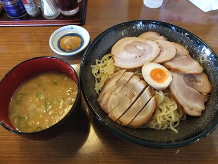 らぁめん てるちゃん つけ麺 魚粉&チャーシュー増¥1000