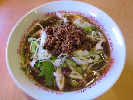 上海大食堂 黒酢湯麺¥842