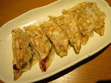 麺屋あした 餃子(六個入り)¥350