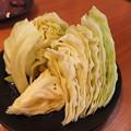 写真: カルビ屋三夢 上越店 食べ放題上コース キャベツ焼き