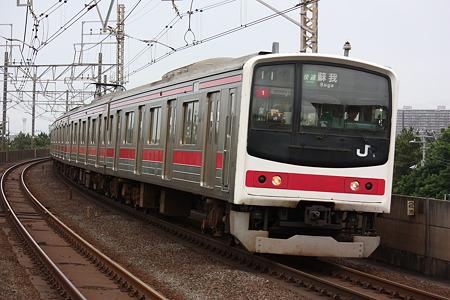 2010/06/27(日) 京葉線 205系電車[稲毛海岸-検見川浜にて]