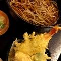 写真: 天ぷらそば