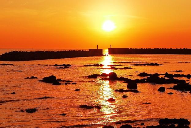 Photos: 漁港の夕景・・・♪