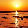 漁港の夕景・・・♪