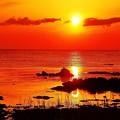 夕景 日本海は能登の海