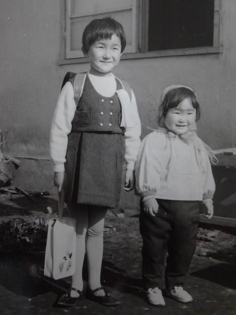 おねえちゃんの入学の日